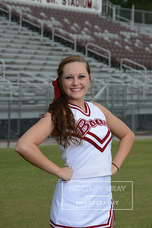 BHS Cheer Portraits 2014
