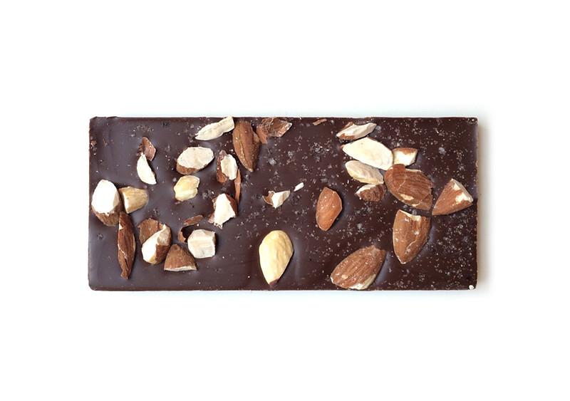 vegan almond bark