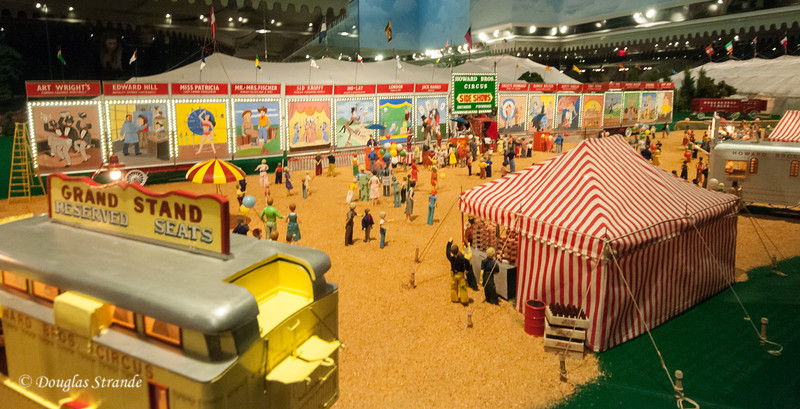Miniature circus at the Ringling Museum