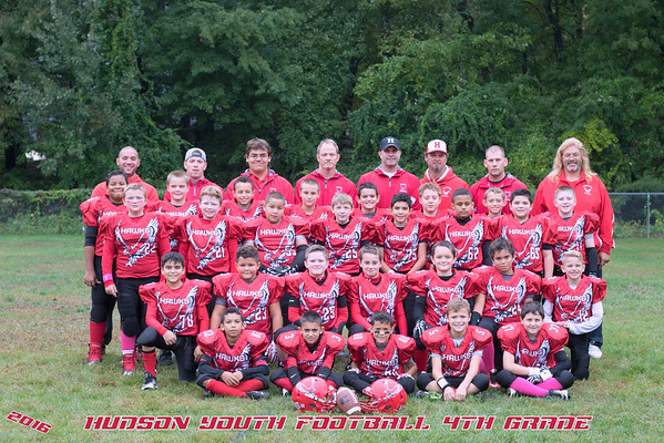 HYFC 4th grade V Worcester Cowboys
