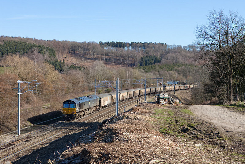RTB/TSP MRCE 653-05 with the empty ore train 48510 (Stolberg/D - Lillo) in Botzelaar.