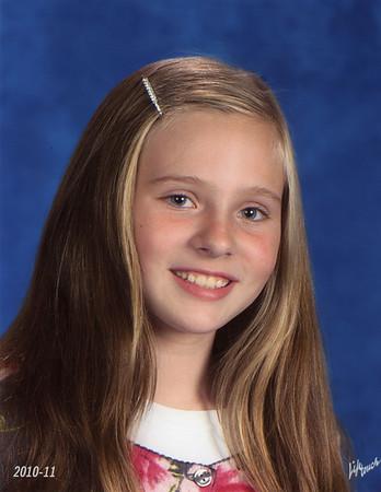 Katie 4th Grade Class Photos