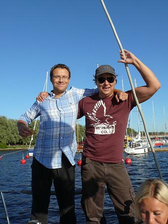 Soome saarestikus purjetamas 2009 august