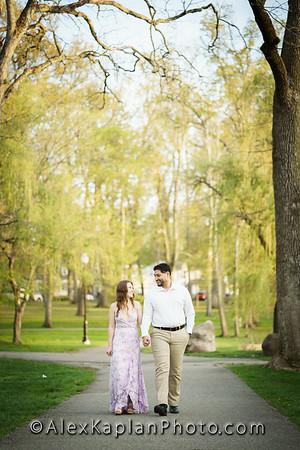 Verona Park Engagement Session By Alex Kaplan