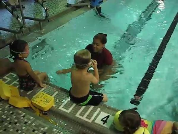 VIDEO - 1st Swim Class
