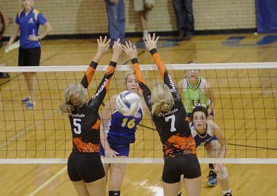 Gering vs Ogallala Volleyball