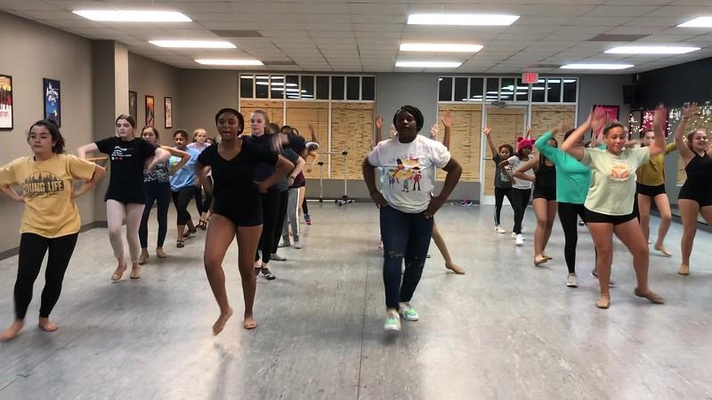 Parade Choreography 2018