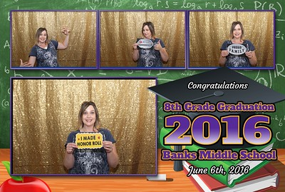 Banks Middle School 8th Grad Party 6.6.2016