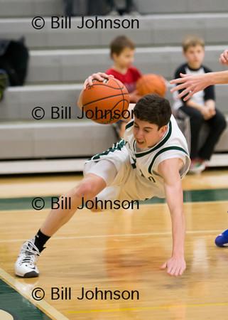 B JV Basketball Medfield v Westwood 2_7_13