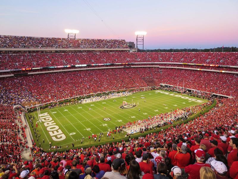 Sanford Stadium University of Georgia