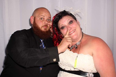 Dana and Jonathan's Wedding Photo Booth