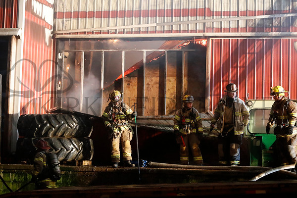 01.08.19 Working Barn fire on Rancks Church Rd. in East Earl Township