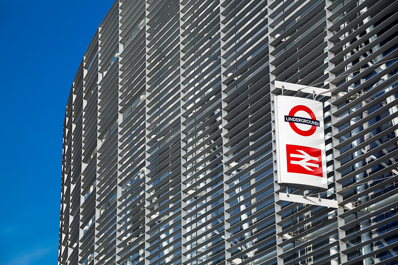 Exterior of Blackfriars Station, London