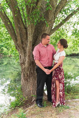 Mary & Marek's Engagement Session :: Historic Oak View Park :: AO&JO Photography & Videography (Raleigh Wedding Photographer)