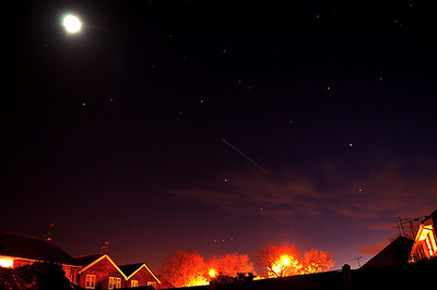 ISS OVER LINCOLN