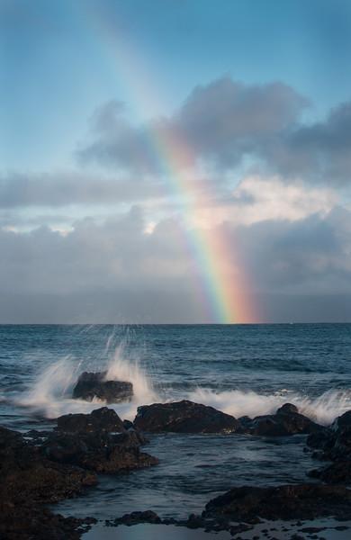 Maui morning rainbow