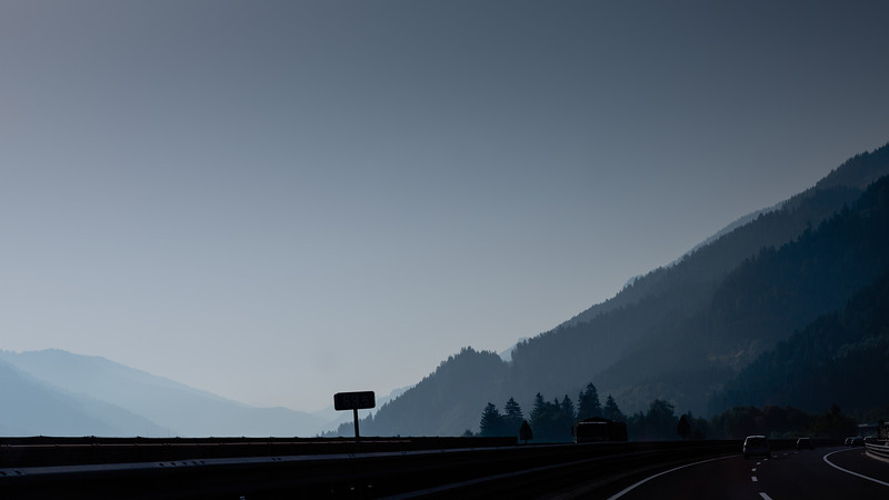 Quick snap from the car, somewhere in southern Germany (I think).