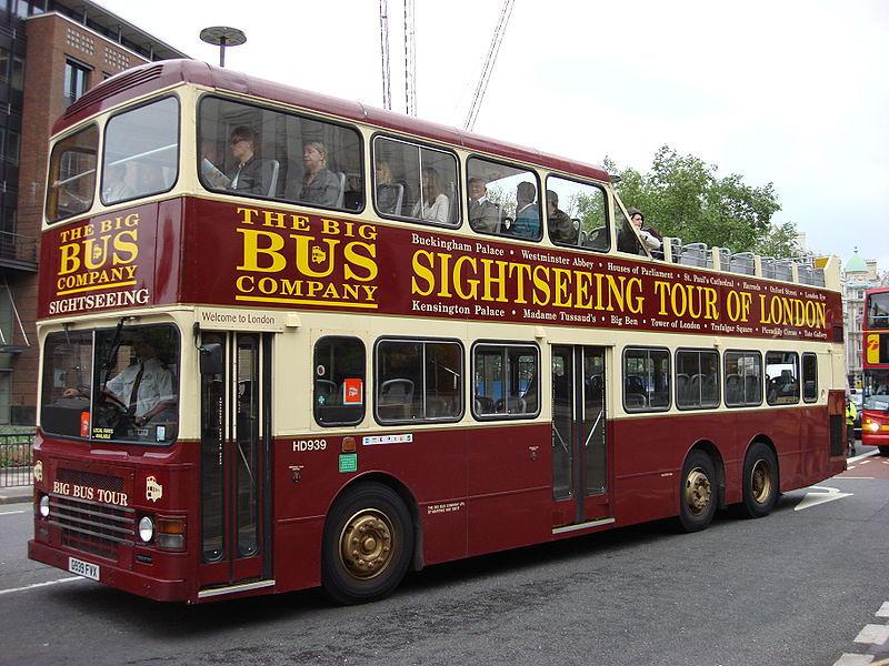 Sightseeing Bus, London