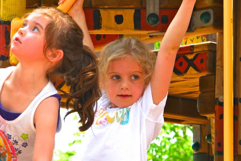 Maggie at the playground - 1