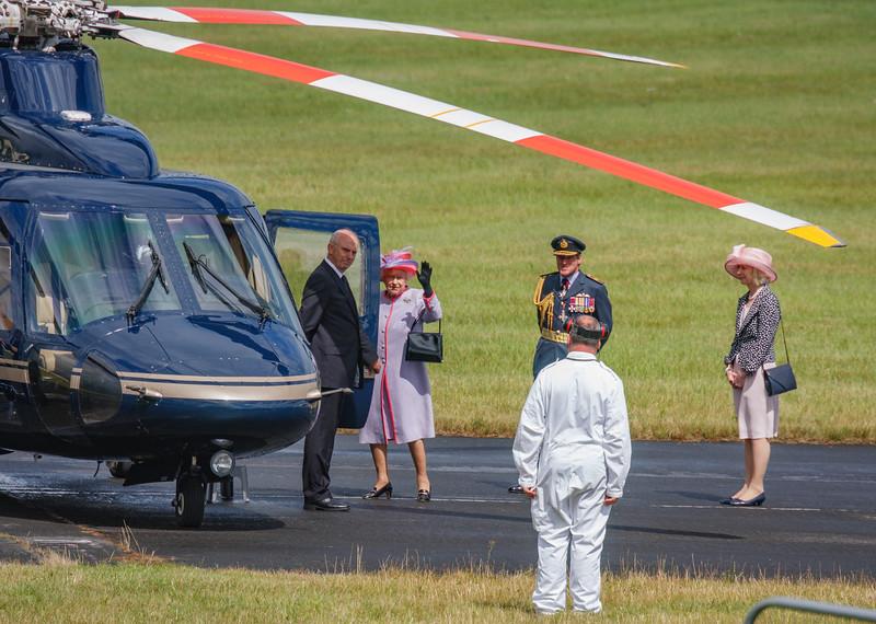 2008, C/N 76-0399, G-VONB, HM Queen Elizabeth II, Helicopter, RIAT 2008, Royal Flight, S-76B, Sikorsky - 11/07/2008@15:04