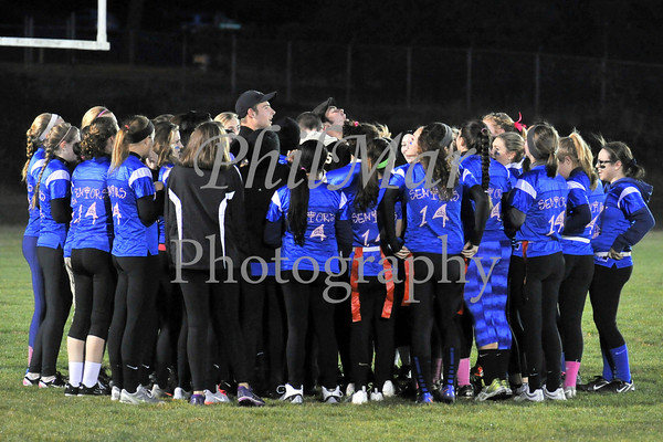 Berks Catholic Powder Puff Football 2013 - 2014