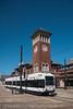 Newark Light Rail (NJT)<br /> Broad Street, Newark, New Jersey<br /> September 27, 2014