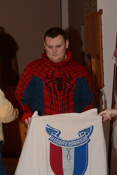 Trevor James Eagle Scout Court of Honor 1/10/15