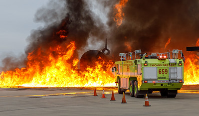 10/25/19  ARFF Training O'Hare Field
