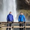 John and Chris - Seljalandsfoss