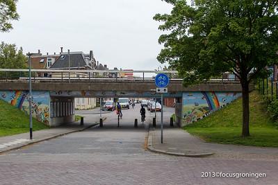 Oranje en Plantsoenwijk 2013 Mozaiek Project Moesstraat