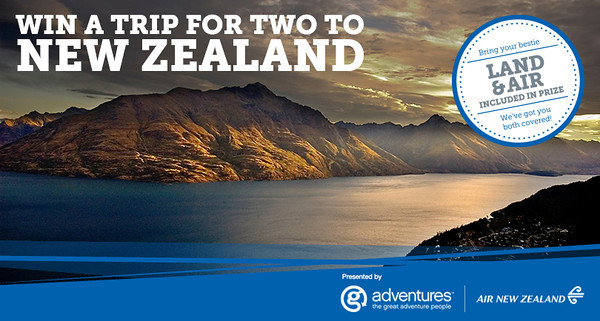 Win a Trip to New Zealand with G Adventures