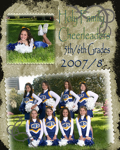 2008 Cheerleaders 5th-6th Grades