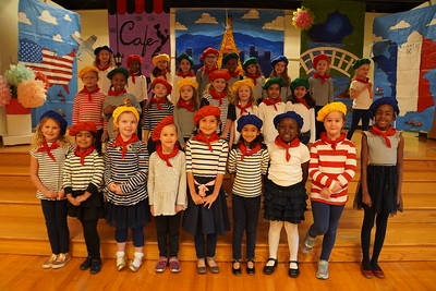 Grade 1 Play & French Cafe 2019