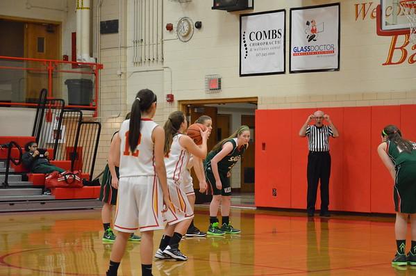 CHS Girls Basketball vs Salem  January 15, 2015