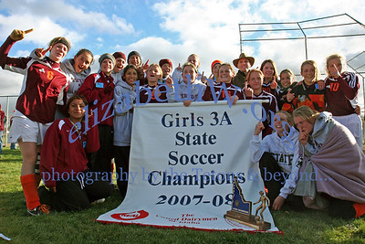 Teton Valley Girls Soccer State Champions 2007