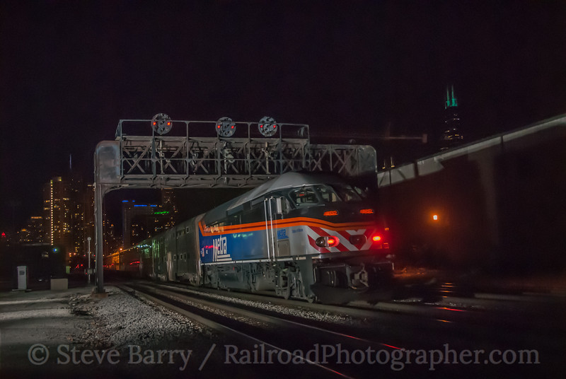 Metra<br /> Racine Avenue, Chicago, Illinois<br /> May 18, 2014