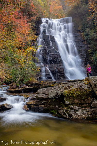 Indian Ford Falls @ Gorges State Park Jocassee NC/SC 11-4-17