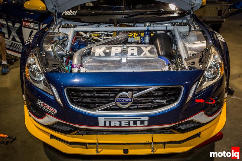 Nerd's Eye View: K-PAX Racing Volvo S60 splitter front end
