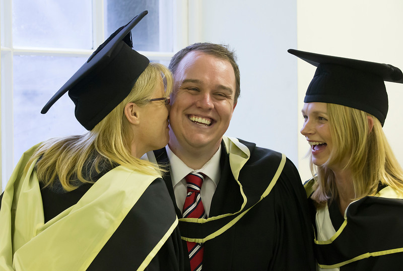 Pictured are Marion English, Tramore, Alan Carburry, Navan and Emma Greene, Waterford who graduated Master of Arts in Teaching and Learning in Further and Higher Education. Picture: Patrick Browne.