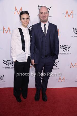 Brandi Milbradt and Darren Aronofsky   photo by Rob Rich/SocietyAllure.com © 2014 robwayne1@aol.com 516-676-3939