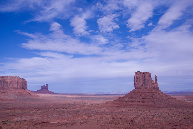 The Monument Valley in Colorado Plateau, Colorado, USA