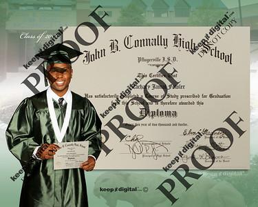 2012 Connally Keedjit™ Diploma Proofs Photos