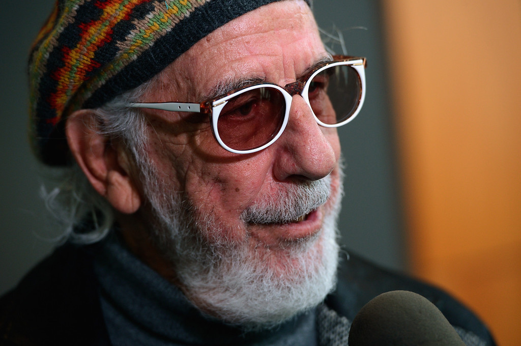 . Record producer and Ahmet Ertegun Award recipient Lou Adler attends the press conference for the Rock and Roll Hall of Fame 2013 Inductees announcement at Nokia Theatre L.A. Live on December 11, 2012 in Los Angeles, California.  (Photo by Kevin Winter/Getty Images)