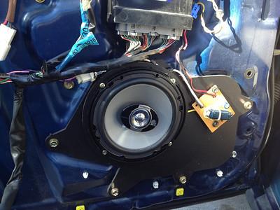 1998 Lexus GS400 Front Speaker Installation