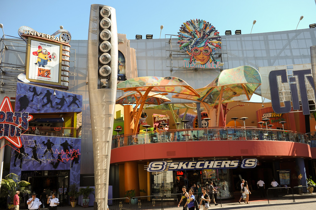 . This year is the 20th anniversary of Universal CityWalk. Friday, June 28, 2013. (Michael Owen Baker/L.A. Daily News)