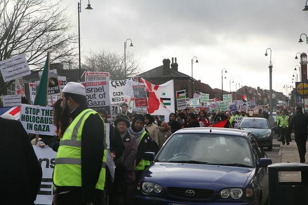 (4) Gaza Demo  - Bolton February 2009