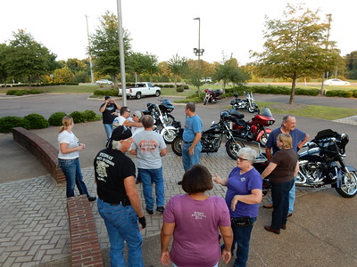 Sweet Peas Dinner Ride 9-15-2016