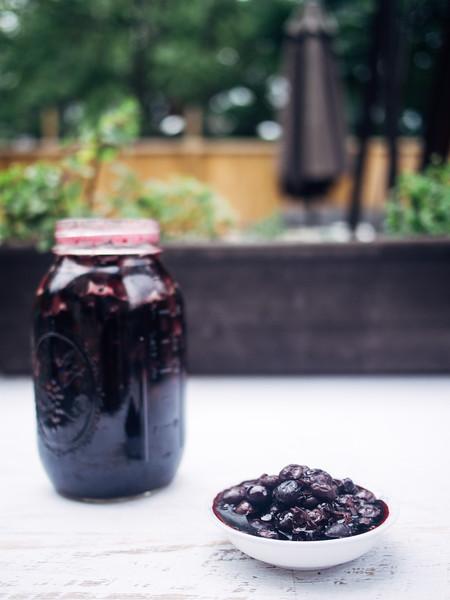 pickled blueberries jar in context.jpg