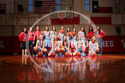 Antonian 2013-14 Lady Apache Basketball