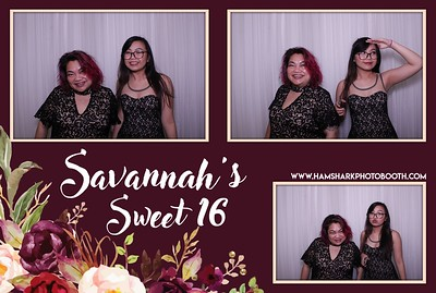 Savannah's Sweet 16